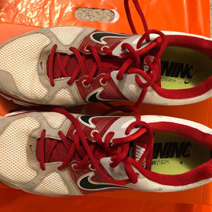 Red Nike Cushlon Pegaus28 Flywire Size 12 Zoomair